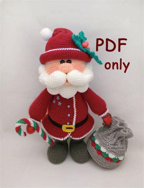 amigurumi pattern christmas 994 best idee natale amigurumi images on pinterest