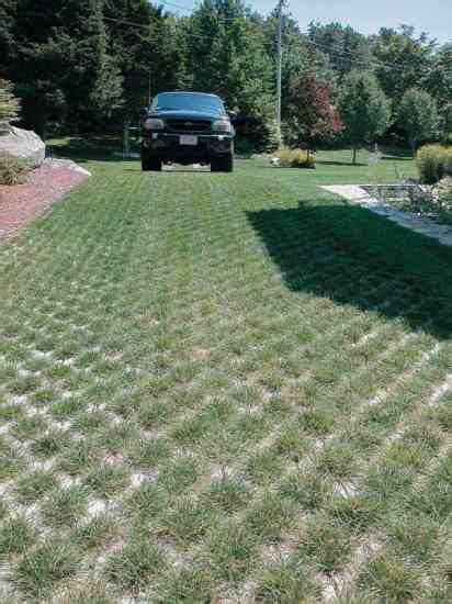 green driveway material permeable pavers earth news