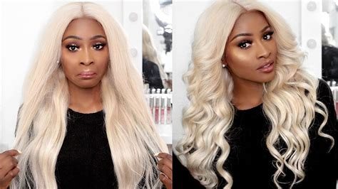 platum blonde hair on black women easiest tutorial ever but black women shouldn t wear