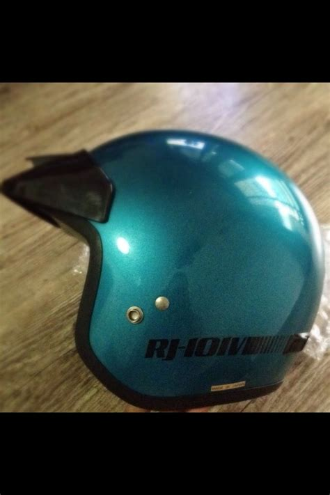 Helm Shoei Retro Vintage Shoei Rj 101v Helmet My Helmet Coollection