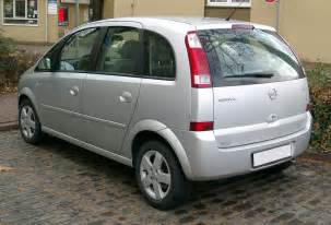 Opel Meriva Automatic Opel Meriva 1 7 2003 Auto Images And Specification