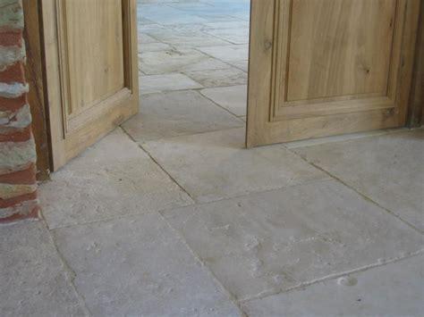 antique limestone flagstone floors
