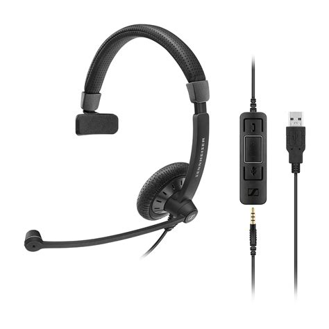 Usb Komputer sennheiser sc 45 sc 75 usb 3 5mm headset