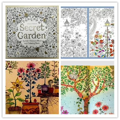 secret garden colouring book best price secret garden coloring book ing book high copy secret