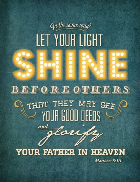 Let The Light Shine Through by Let God S Light Shine Through You Al Kevin You