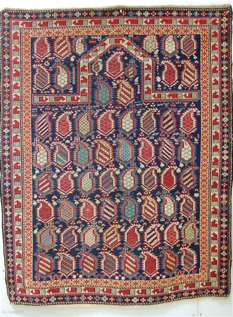 robert mann rugs shirvan marasali prayer rug 3 8 quot x4 9 quot or 110x143 cm decent condition with some localized