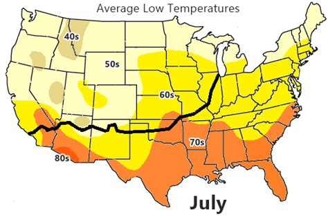 us weather map lows weather on route 66