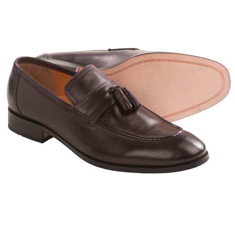 johnston and murphy tassel loafers johnston murphy kimball tassel loafers leather for