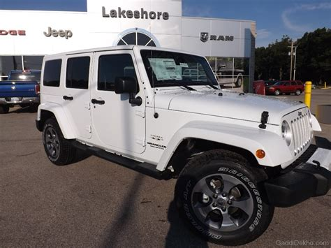 white jeep 2016 jeep wrangler car pictures images gaddidekho com
