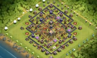 Clash Of Clans Th7 Clans Wars Trophy Base Its A Trap Youtube » Ideas Home Design