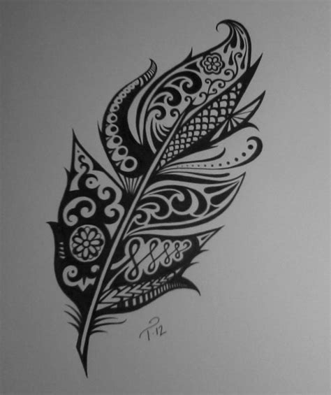 feather henna tattoo pin by leanne jones on the best tattoos