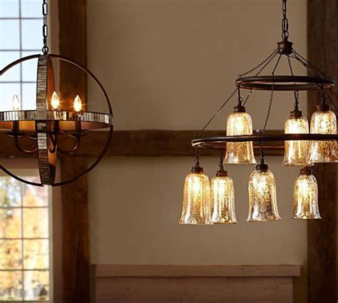 Pottery Barn Dumont Mirrored Chandelier Dumont Mirrored Chandelier Pottery Barn Lighting Products Pottery And Pottery
