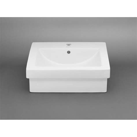 ronbow square vessel sink ronbow rectangle ceramic vessel bathroom sink in white