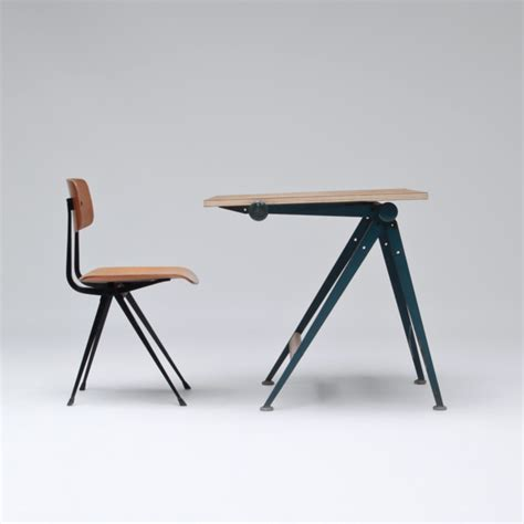 City Furniture Drafting Table And Chair By Wim Rietveld Drafting Table And Chair