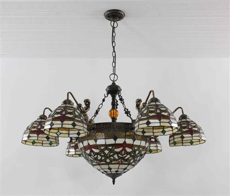 stained glass ceiling light fixtures tiffany chandelier stained glass l ceiling pendant
