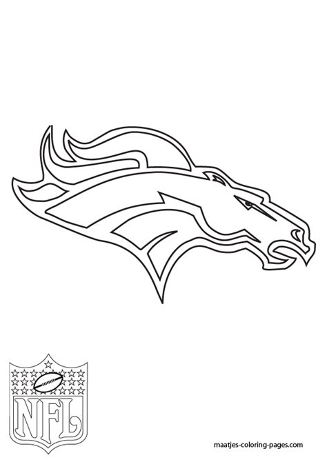 nfl coloring pages broncos nfl broncos helmet coloring pages www imgkid com the