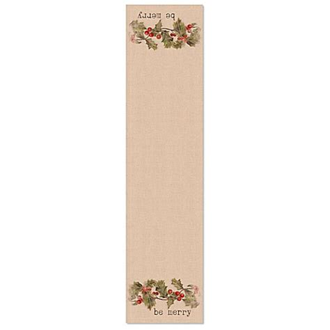 60 inch table runner buy heritage lace 174 60 inch be merry table