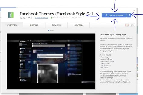 layout chrome app how to change facebook background in google chrome