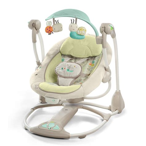bright starts hybridrive baby swing new ingenuity convertme swing 2 seat vibrating baby swing