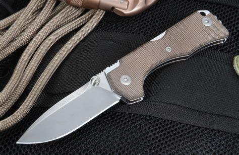 micarta knives fantoni hide folding knife with canvas micarta handle