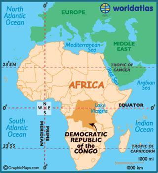 africa map democratic republic of the congo democratic republic of the congo map geography of