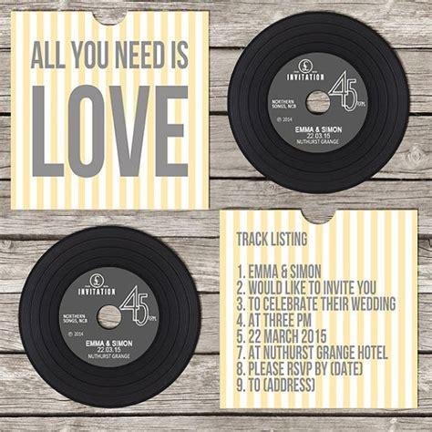 vinyl cd wedding invitations wedding invitations images vinyls vinyl on