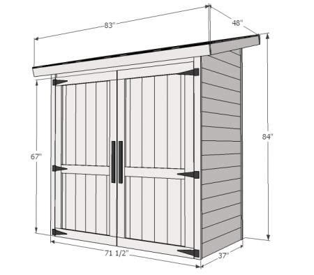 small tool shed plans free woodworking projects plans