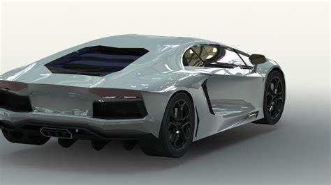 Lamborghini New Models Lamborghini Aventador Free 3d Model Cgtrader