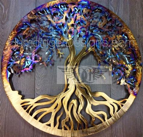 tree of life metal wall art humdinger designs