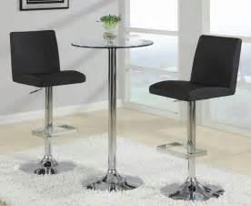 Pub table and modern black bar stools 120341 coaster furniture jpg