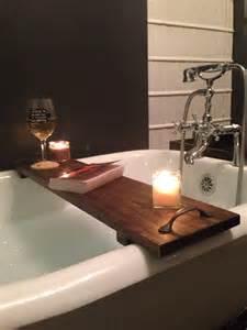 wood bathtub caddy rustic bathtub caddy bath tray poplar wood with handles