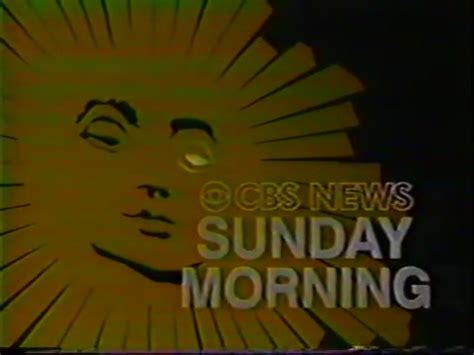 sunday morning show cbs news sunday morning logopedia the logo and branding