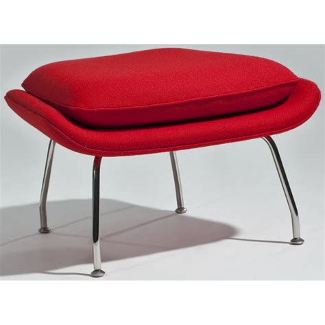 red chair with ottoman newark lounge chair with ottoman red aeon furniture