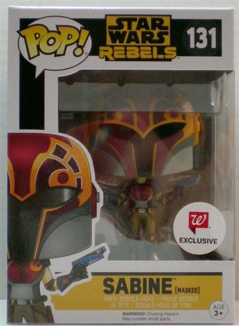 Funko Wars Rebels Sabine Masked 10767 wars rebels funko sabine masked pop vinyls exclusive figure