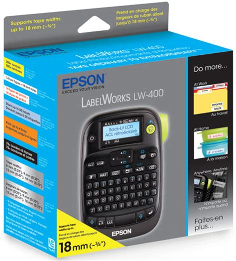 Label Maker Epson Lw 400 20170227 epson labelworks lw 400 label maker office products