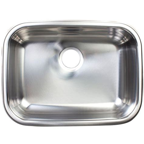 franke stainless steel kitchen sinks franke undermount stainless steel 24x18x8 0 hole single