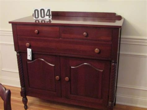 davis cabinet furniture for sale comas montgomery realty and auction personal property