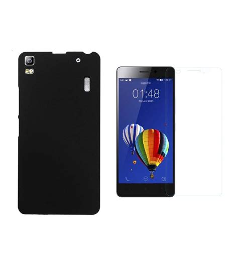 Tempered Glass Lenovo A7000 Merk Premium Original Tempered Glass lenovo a7000 back cover black and premium tempered glass plain back covers at low