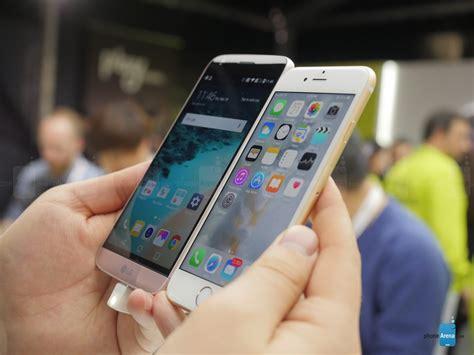 lg g5 vs apple iphone 6s look phonearena reviews