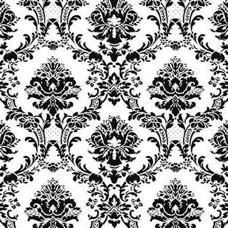 black white pattern names large black and white victorian damask large scale chic