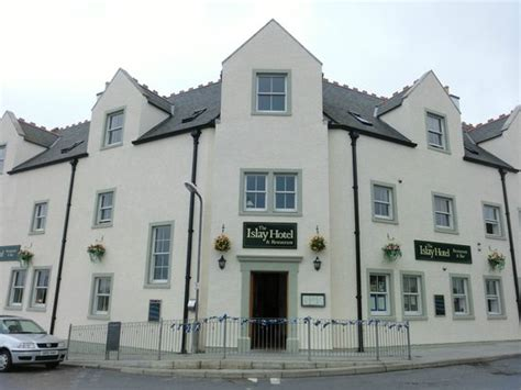 islay hotel taken just outside the front door picture of the islay
