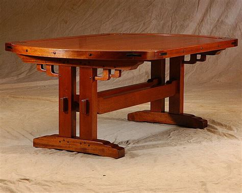 Custom Greene & Greene Coffee Table by El Dorado Woodworks