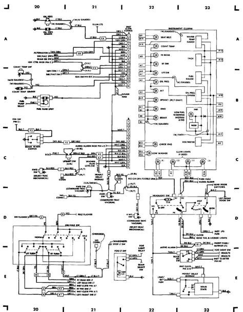 2000 jeep wrangler wiring diagrams wiring diagram manual