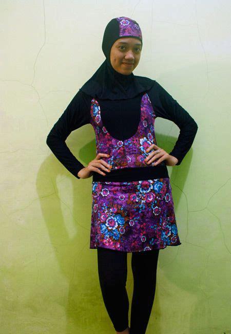 Kombinasi Baju Warna Ungu Dengan Jilbab 42 best images about swimsuit baju renang muslimah on sporty models and jakarta