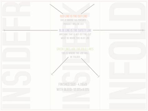 4 Over Certified Tri Fold Templates Horizontal Www 4over Templates