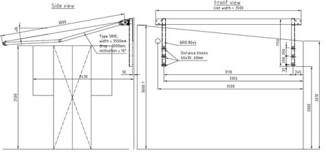 awning details retractable awning cad details google search awnings