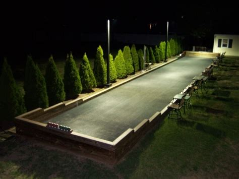 backyard bocce court backyard bocce court backyard design pinterest