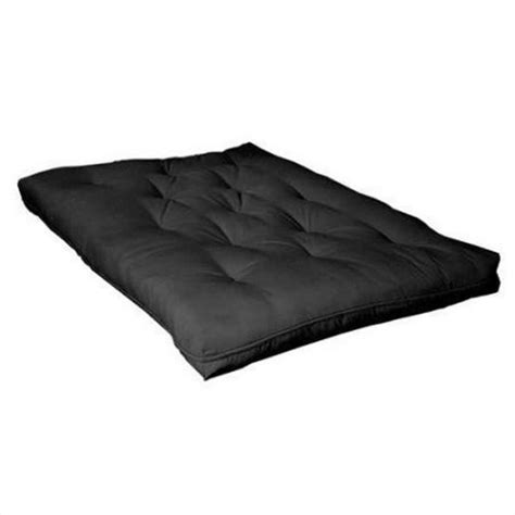 futon pad coaster six inch innerspring futon pad in black 2005is