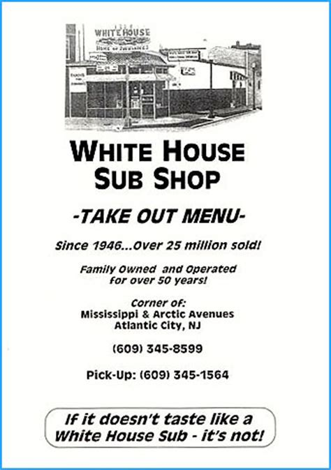 white house subs atlantic city white house sub shop
