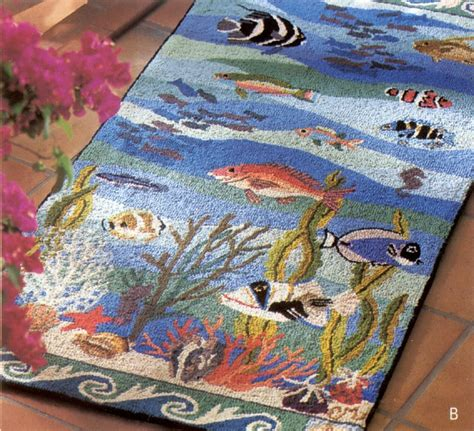 coral reef rugs coral reef rug by murray rug hooking